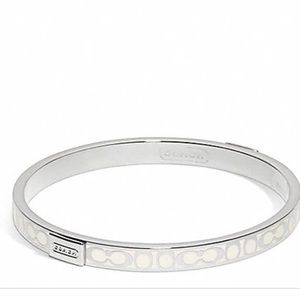 COACH Thin Signature Bangle!